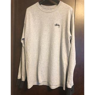 STUSSY - ステューシー 長袖Tシャツ(袖ボタン)Sサイズ