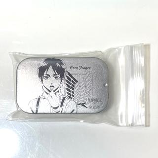 【進撃の巨人】UHA味覚糖スチールケース・お掃除エレン【シークレット!レア】