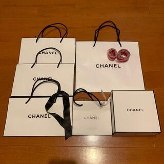 シャネル(CHANEL)の【CHANEL】コスメ紙袋、BOX、リボンセット(ショップ袋)