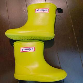 ビームスボーイ(BEAMS BOY)の美品人気stampleスタンプルレインブーツ15cm長靴雨靴(長靴/レインシューズ)