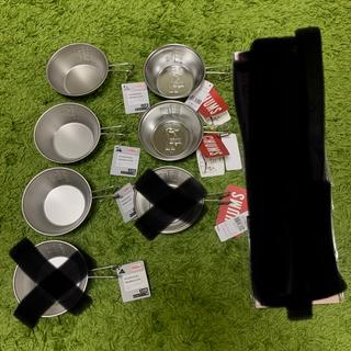 チャムス(CHUMS)の【CHUMS】新品 ステンレスシェラカップ &キャンドゥ シェラカップ(食器)