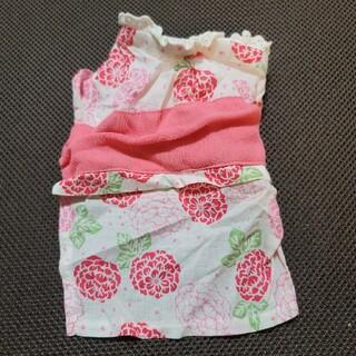 ドッグデプト(DOG DEPT)の美品◆【薔薇ピンク浴衣】◆ペットパラダイス◆dogdept(犬)