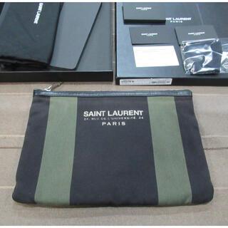 Saint Laurent - サンローラン クラッチバッグ Saint laurent Paris iPad