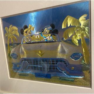 ディズニー(Disney)の最終値下げ レトロポップ♡ミッキー&ミニー ディズニー(ホログラムポスター)(絵画/タペストリー)