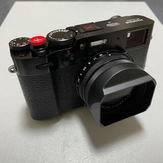 フジフイルム(富士フイルム)の本日限定値下 fujifilm x100v 付属品多数(コンパクトデジタルカメラ)