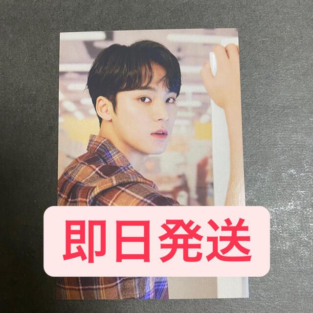 SEVENTEEN(セブンティーン)のHYBE フォトカード ミンギュ エンタメ/ホビーのCD(K-POP/アジア)の商品写真