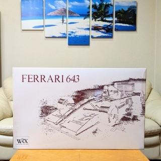 フェラーリ(Ferrari)のROSSO 1/8Ferrari 643💫全長50cm/新品/未使用品(模型/プラモデル)
