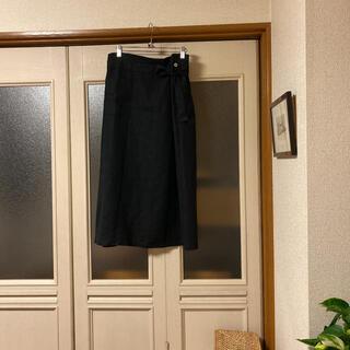 フォグリネンワーク(fog linen work)のfog linen work リネンロングスカート 美品(ロングスカート)