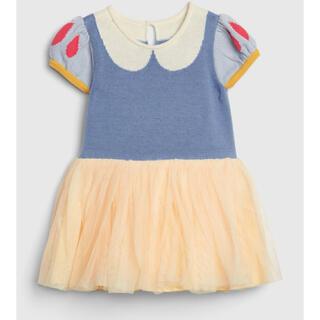 Disney - 白雪姫 チュールワンピース 80サイズ