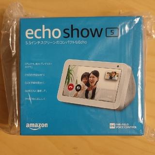 エコー(ECHO)のamazon echo show5 新品未開封(エコーショー5)(スピーカー)