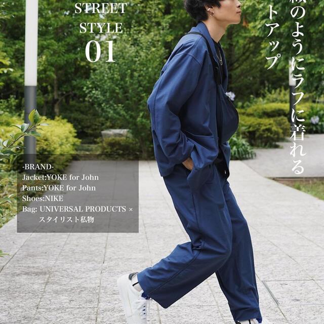 Jieda(ジエダ)のyoke 別注 セットアップ メンズのスーツ(セットアップ)の商品写真