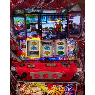 ダイトギケン(大都技研)の一台限り パチスロ スロット実機 hey鏡 ヘイ鏡 6号機 コイン不要機セット(パチンコ/パチスロ)