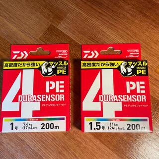 ダイワ(DAIWA)のダイワ PEライン UVF PEデュラセンサー×4+Si²(釣り糸/ライン)