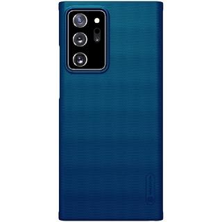 サムスン(SAMSUNG)のGalaxy Note20 Ultra ニルキン フロステッド加工 青 ケース(Androidケース)