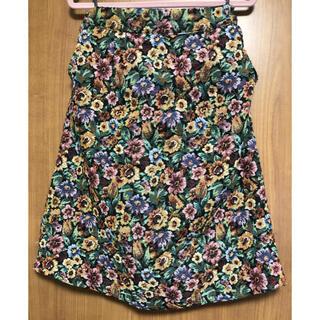 カラー(Color)のColorの花柄スカート(ひざ丈スカート)