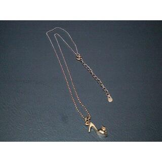 ブルーム(BLOOM)のBloom 210(5金)ピンクゴールド ネックレス ハイヒール(ネックレス)