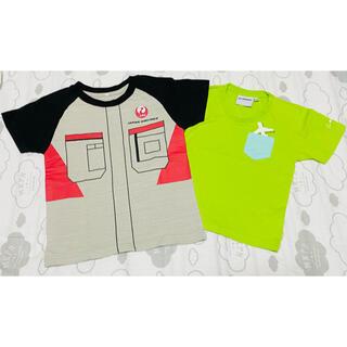 ジャル(ニホンコウクウ)(JAL(日本航空))のBoeing ボーイング JAL Tシャツ 2枚セット(航空機)