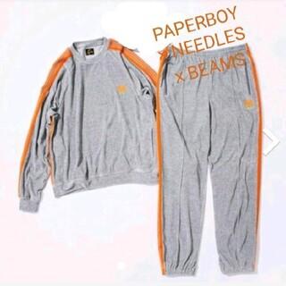 ニードルス(Needles)のPAPERBOY × NEEDLESxBEAMS セットアップ(セットアップ)