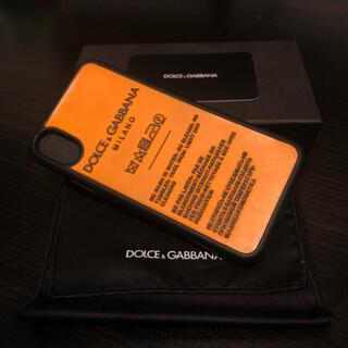 ドルチェアンドガッバーナ(DOLCE&GABBANA)のiphoneX ケース DOLCE & GABBANA(iPhoneケース)