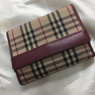 バーバリー(BURBERRY)のバーバリー 折財布(折り財布)