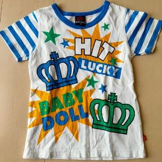 ベビードール(BABYDOLL)のベビードール 半袖Tシャツ 110cm(Tシャツ/カットソー)