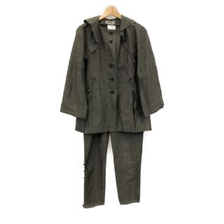 ISSEY MIYAKE - 美品 イッセイミヤケ 麻×綿 デザインスーツ メンズ M