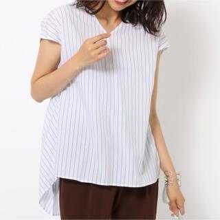 バンヤードストーム(BARNYARDSTORM)の新品、タグ付き BARNYARDSTORM後ろタックシャツ(シャツ/ブラウス(半袖/袖なし))
