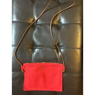 オーシバル(ORCIVAL)のオーシバル ショルダーバック 赤(ショルダーバッグ)