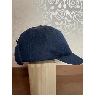 エニィファム(anyFAM)の【エニィファム】帽子 キャップ デニム リボン(帽子)