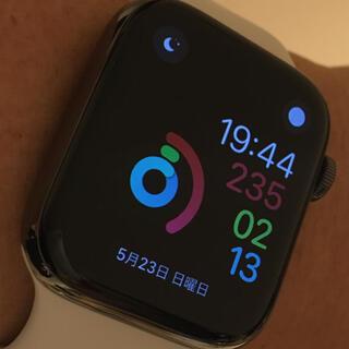 アップル(Apple)の5%OFFクーポン Apple Watch 6 44mm グラファイトステンレス(腕時計(デジタル))