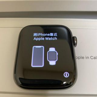 アップル(Apple)のApple Watch series6セルラー グラファイトステンレス44mm (腕時計(デジタル))