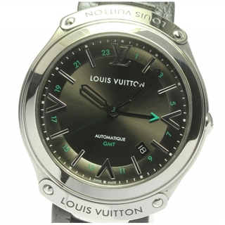 ルイヴィトン(LOUIS VUITTON)の☆良品 ルイ・ヴィトン フィフティーファイブ Q6D30 メンズ 【中古】(腕時計(アナログ))
