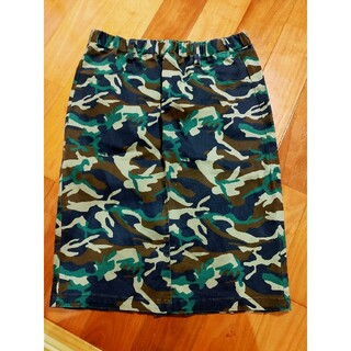レプシィムローリーズファーム(LEPSIM LOWRYS FARM)の迷彩柄 スカート(ひざ丈スカート)