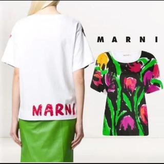 マルニ(Marni)のマルニの花柄ティシャツ(シャツ/ブラウス(半袖/袖なし))
