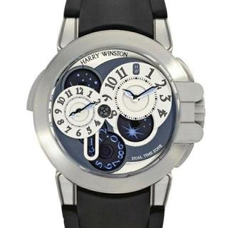 ハリーウィンストン(HARRY WINSTON)のハリーウィンストン メンズ 時計 デュアルタイム(腕時計(アナログ))