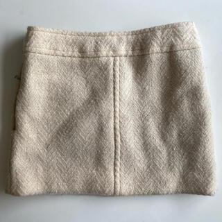 ドゥロワー(Drawer)のDrawer ドゥロワー スカート ホワイト(ひざ丈スカート)