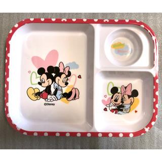 ディズニー(Disney)のランチプレートミッキー&ミニー(プレート/茶碗)