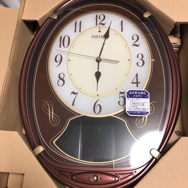 SEIKO(セイコー)のSEIKOメロディ電波時計 インテリア/住まい/日用品のインテリア小物(掛時計/柱時計)の商品写真