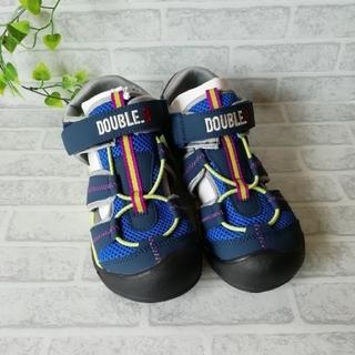 ダブルビー(DOUBLE.B)のミキハウス ダブルBサンダル シューズ21㎝ 新品未使用(サンダル)