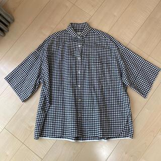 スピックアンドスパン(Spick and Span)のTICCA ギンガムチェックシャツ(シャツ/ブラウス(半袖/袖なし))
