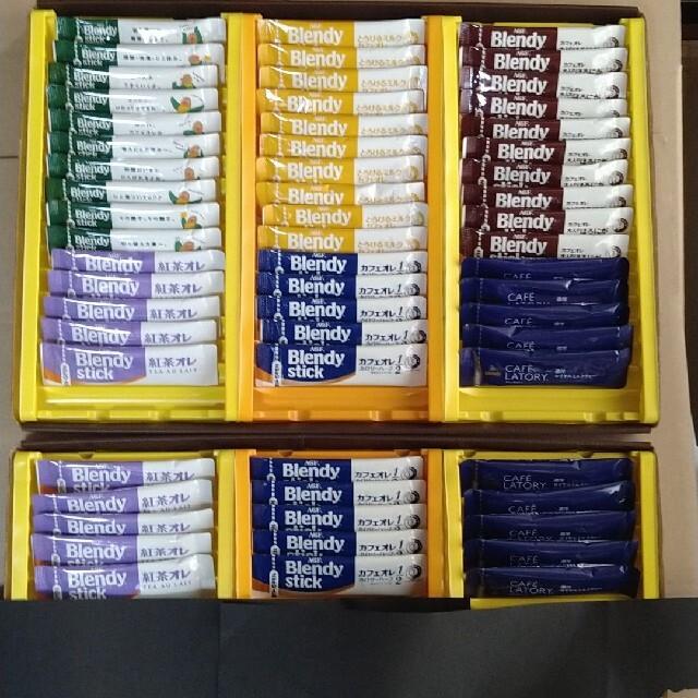 AGF(エイージーエフ)のAGF ブレンディ & カフェラトリー スティックコーヒー 6種60本 食品/飲料/酒の飲料(コーヒー)の商品写真