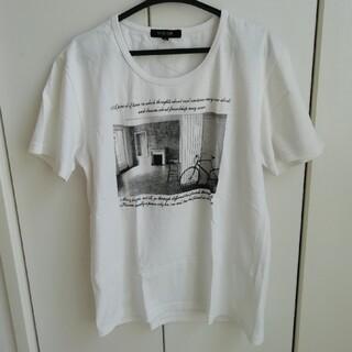 ミッシェルクラン(MICHEL KLEIN)の【MICHEL KLEIN】クルーネック Tシャツ(Tシャツ/カットソー(半袖/袖なし))