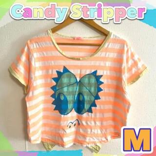 キャンディーストリッパー(Candy Stripper)の【Candy Stripper/M】 キャンディストリッパー ボーダーTシャツ(Tシャツ(半袖/袖なし))