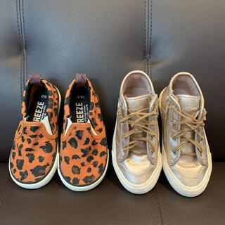 ブリーズ(BREEZE)のキッズ 靴 16センチ 2足セット(スニーカー)