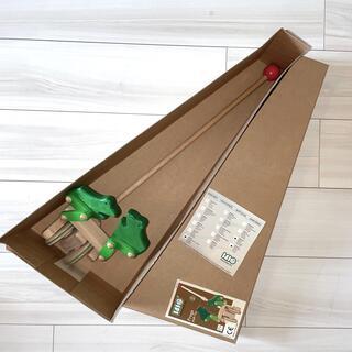 ボーネルンド(BorneLund)のBAJO Frogs push toy(知育玩具)