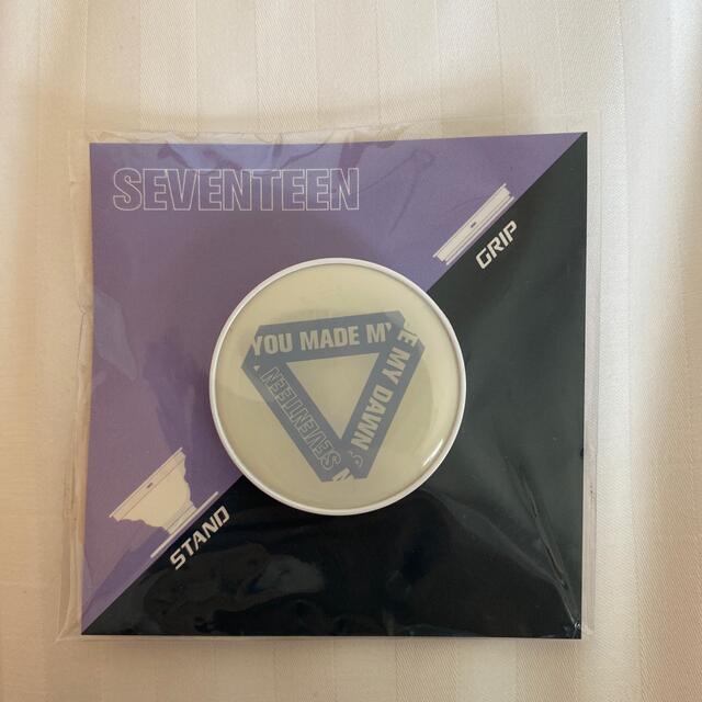 SEVENTEEN(セブンティーン)のセブチ スマホグリップ 非売品 エンタメ/ホビーのCD(K-POP/アジア)の商品写真