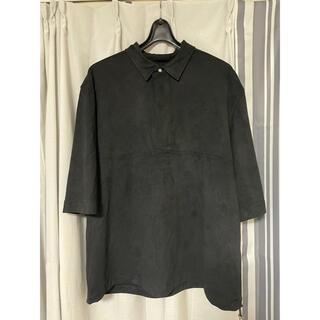 ZARA - ZARA スウェード調ポロシャツ