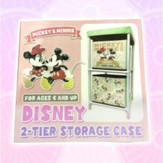ディズニー(Disney)の【りんご様 専用】ディズニー 2段収納ボックス 2個セット(ケース/ボックス)