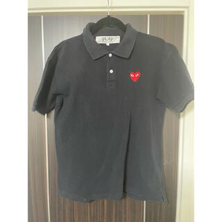 コムデギャルソン(COMME des GARCONS)のコムデギャルソンプレイ ポロシャツ L(ポロシャツ)