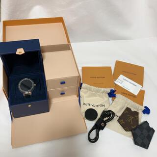 ルイヴィトン(LOUIS VUITTON)のLOUIS VUITTON ルイヴィトン タンブールホライゾン(腕時計(デジタル))